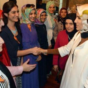 Kadem 10'uncu Şubesini Sümeyye Erdoğan'la Erzurum'da Açtı