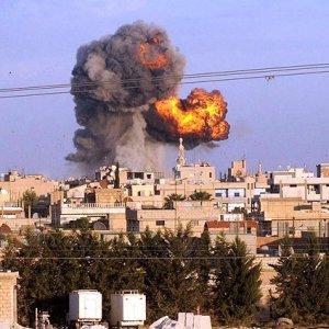 Suriye'den hava operasyonları için olay açıklama