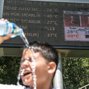 Ağustos için sıcak uyarısı