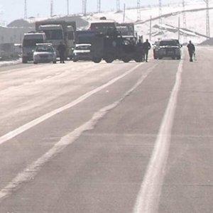 Şırnak'da askeri konvoya saldırı !