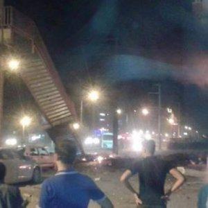 Polis servisine bombalı saldırı: Çok sayıda yaralı var !
