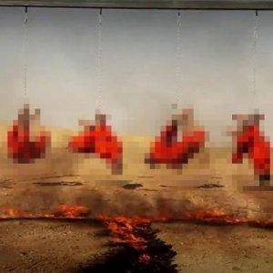 IŞİD vahşet dolu infaz !