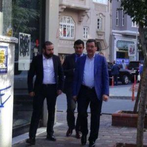 Melih Gökçek'ten Ahmet Hakan'a ziyaret !