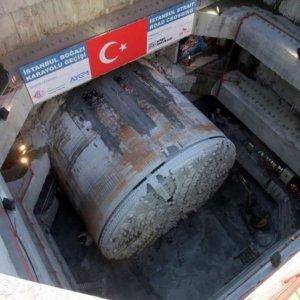Avrasya Tüneli'nde sona yaklaşıldı