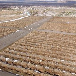 Erzurum'da 1800 boş mezarla kışa hazırlık !