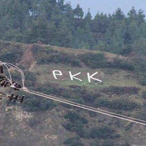 Dağa PKK yazanlar yakalandı !