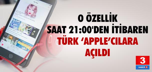 Apple Music artık Türkiye'de yayında !
