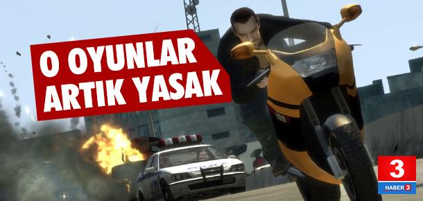 Bzı bilgisayar oyunlarına Erzurum'dan yasak geldi !