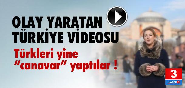 İngiltere'den olay yaratan Türkiye videosu