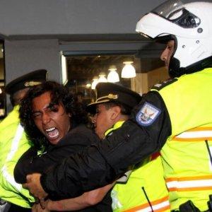 PKK yandaşları Erdoğan'ı protesto etti !