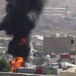Cizre'deki yangının perde arkası: 1 polis şehit, 9 PKK'lı öldürüldü