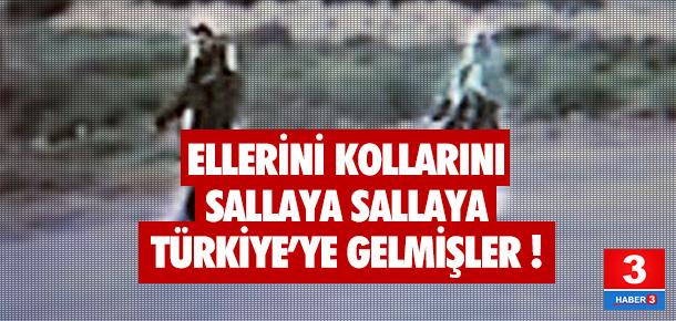 İsmail Akkol ile Fadik Adıyaman Türkiye'ye böyle girmiş