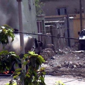 Emniyet'e roketatarlarla sadıran 4 PKK'lı öldürüldü