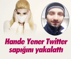 Hande Yener hayranını yakalattı