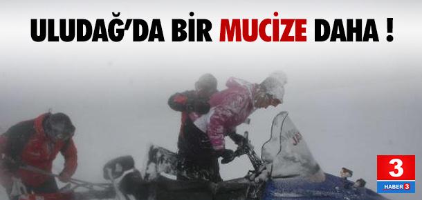 Uludağ'da kaybolan kadın kayakçı kurtarıldı