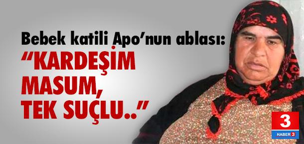 Öcalan'ın ablası: Kardeşim masum