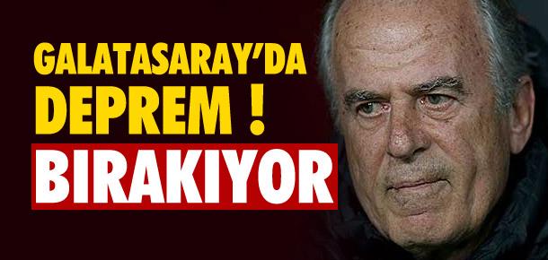 Galatasaray'da Mustafa Denizli depremi