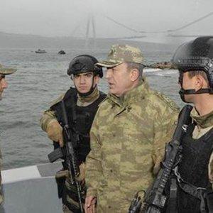 Genelkurmay Başkanı Akar'dan İstanbul'da denetim