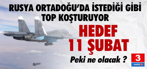 Rusya'nın 11 Şubat hedefi: Halep'İ almak ve..