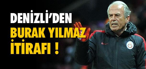 Mustafa Denizli'den itiraf !