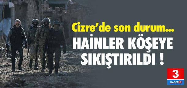 Cizre'deki operasyonda yeni gelişme !