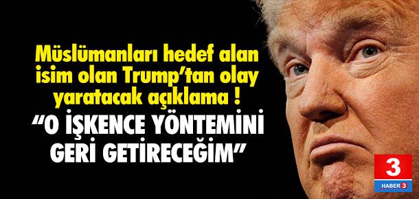 Yine Trump yine olay sözler !