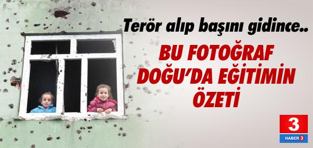 Terör aldı başını gidiyor, okullar yine kapalı kalacak !