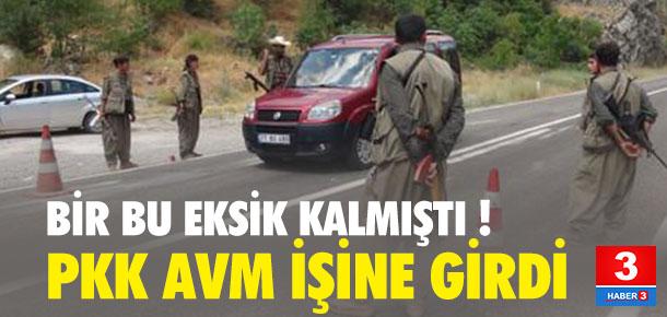 Bir bu eksikti ! PKK market-AVM açacak