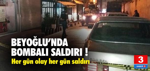 Beyoğlu'nda bombalı saldırı !