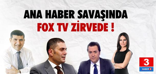 Ana Haber savaşında Fox TV zirvede !