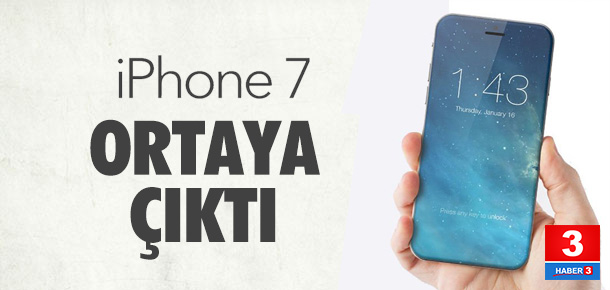 Apple iPhone 7 ilk kez ortaya çıktı