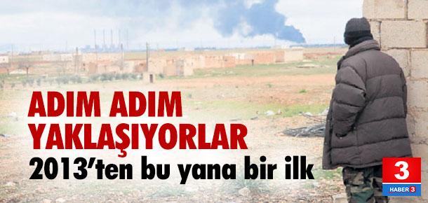 Esad ordusu Türkiye'ye giderek yaklaşıyor