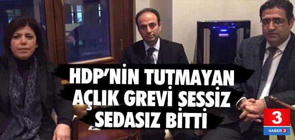 HDP'nin açlık grevi sona erdi