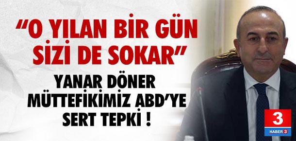 Türkiye'den ABD'ye PYD tepkisi: Bunun adı saflık