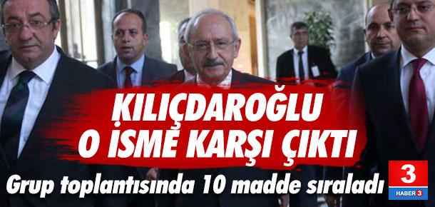Kılıçdaroğlu: O ismi kabul etmiyoruz