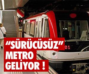 İstanbullu'ya müjde ! Sürücüsüz metro geliyor