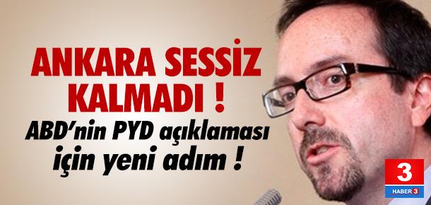 Ankara tavrını gösterdi !