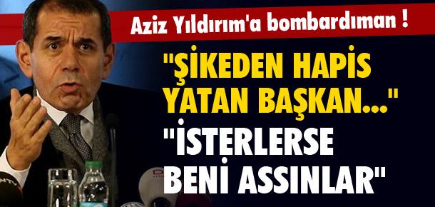 Galatasaray'dan Aziz Yıldırım'a olay cevaplar !