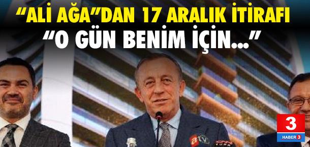 Ali Ağaoğlu: 17 Aralık benim için tramvaydı