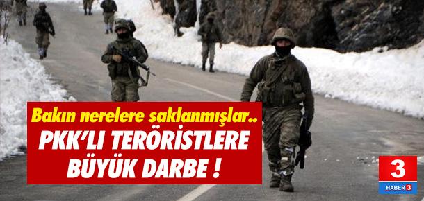 PKK'lı teröristlere büyük darbe !