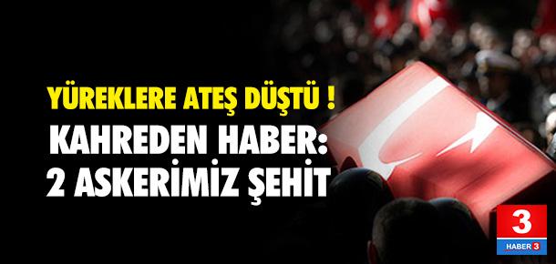 Diyarbakır'dan acı haber geldi: 2 asker şehit