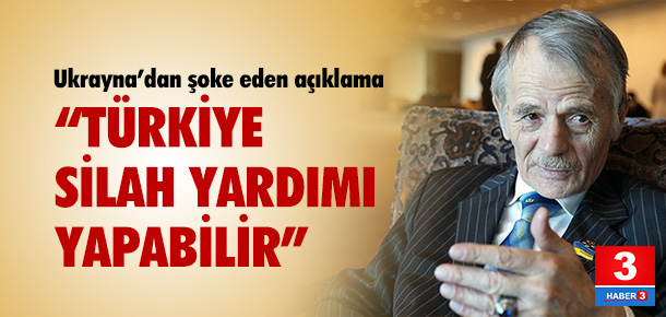 """""""Türkiye silah yardımı yapabilir"""""""