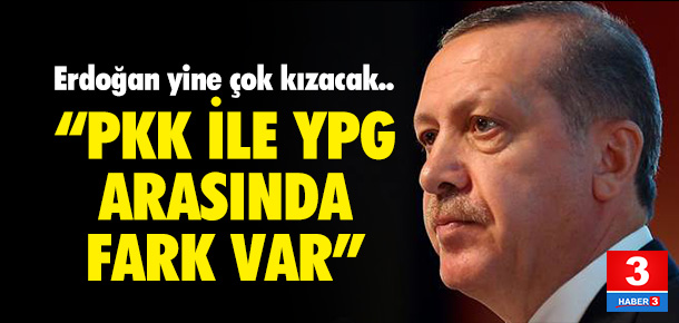 Erdoğan'ın YPG tepkisine yanıt geldi !
