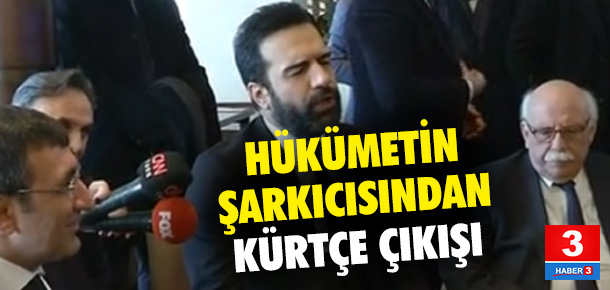 Ünlü şarkıcıdan AK Parti'ye Kürtçe çağrı