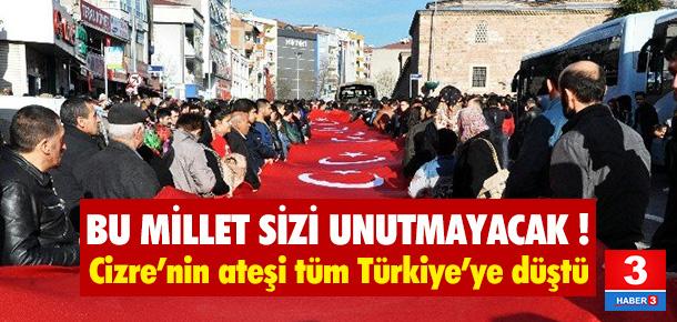 Türkiye kahramanlarına ağlıyor !