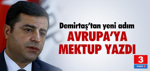 HDP liderinden Avrupa'ya mektup !