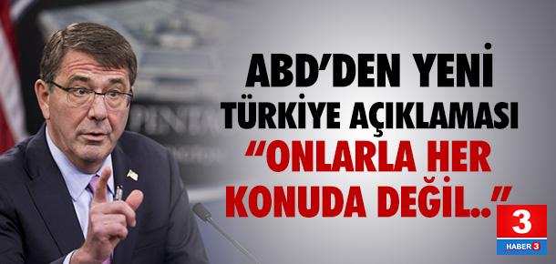 ABD'den yeni Türkiye açıklaması !