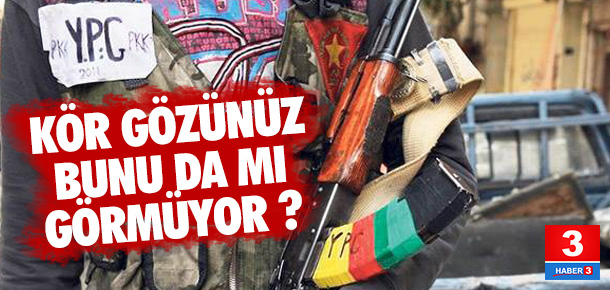 İşte YPG ile PKK'nın aynı olduğunun kanıtı