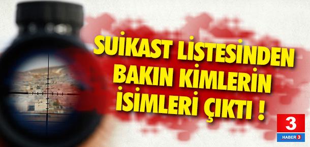 PKK'nın suikast listesi