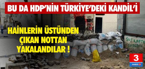 O bodrum katından HDP'nin Kandil'i çıktı